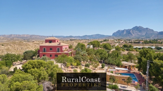 Incredible 500m2 finca with 7 bedrooms and 7 bathrooms and stunning mountain views.